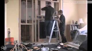 Napoleon Fireplace Installation Time Lapse