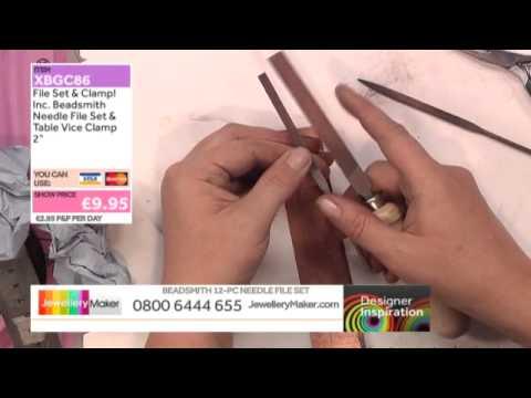 Wire work - JewelleryMaker DI LIVE - 15/08/15