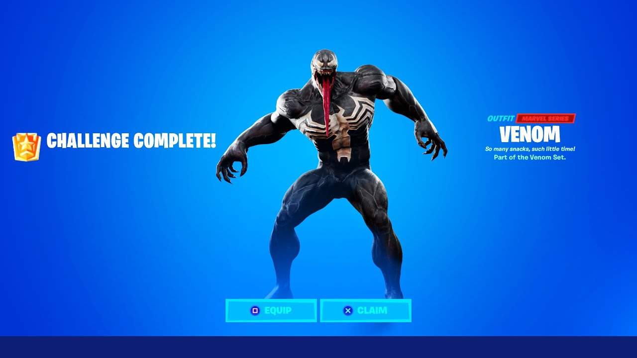 How To Get Venom In Fortnite Season 4 Youtube The battle royale contest will give big surprises to the best fans. how to get venom in fortnite season 4
