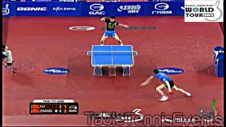 Zhang Jike Vs Xu Xin : Final  [Korea Open 2012]