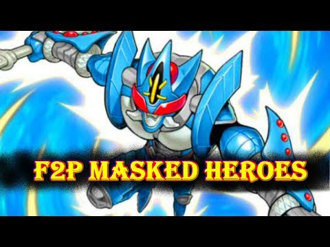F2P MASKED HEROES, THE BEST [F2P Yu-Gi-Oh! Duel Links]