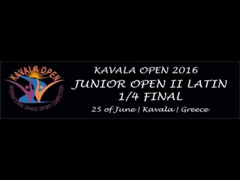 Kavala Open 2016 | Junior Open II Latin | 1/4 F