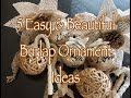 5 Simple DIY Burlap Ornaments
