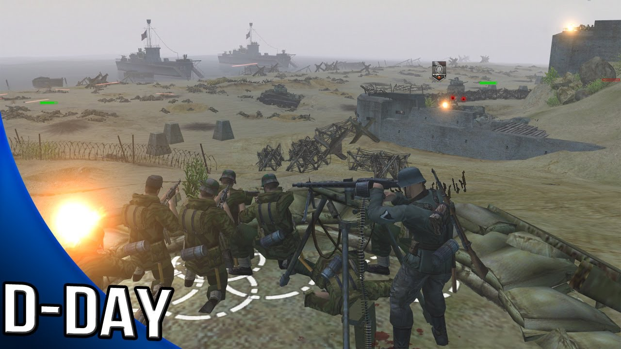 Men Of War Assault Squad 2 D Day Gameplay Youtube