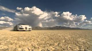 Bugatti Veyron 16.4 high speed test drive Black Rock Desert - YouTube