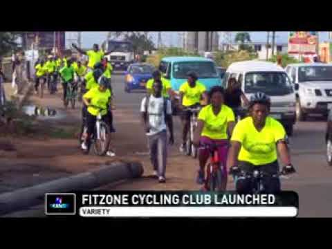 FITZONE CYCLING CLUB Launch Story by TV AFRICA mpeg41
