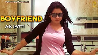 Boyfriend Anu Kadyan &amp Ajay Hooda Tr Music New Haryanvi Romantic Song 2019 Mor Music