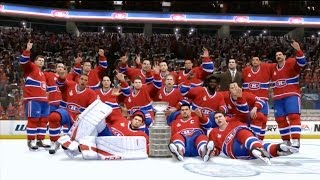 NHL 14 - Montreal Canadiens Win Stanley Cup - PS3