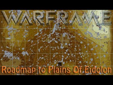 Warframe roadmap to plains of eidolon youtube for Warframe fishing map