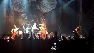 Apocalyptica - Enter Sandman - Bogotá 2012