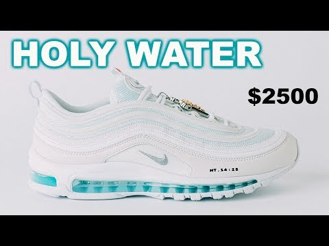 Tony Sandoval on The Breeze - $3000 Limited Edition Sneakers filled with Holy Water Sold-Out in MINUTES