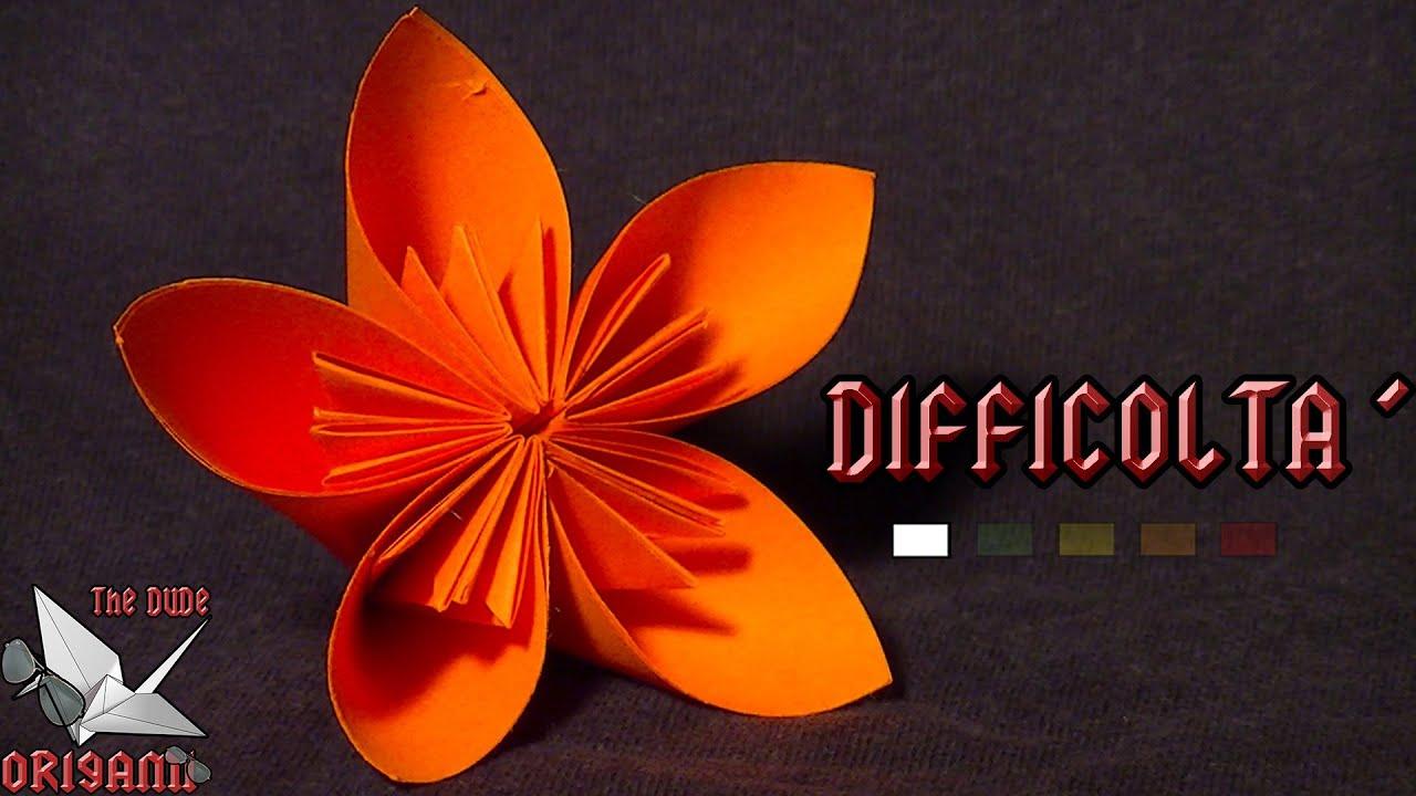 Favori ORIGAMI ITA] Semplicemente Fiore || Fiori/Origami Facili o Per  GW48