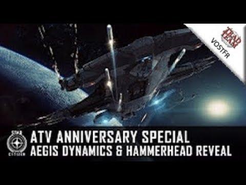 ATV Anniversary Special - Aegis Dynamics & découverte du Hammerhead
