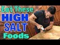 Eat These High Sodium Foods on Keto: Reduce Low Carb Symptoms