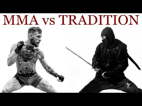 MMA vs. Ninjutsu | Benefits of Traditional Martial Arts Training