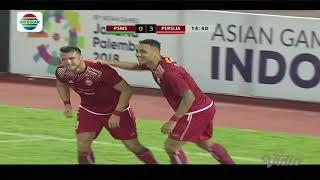 Piala Presiden 2018: Goal Jaimerson Xavier PSMS Medan (0) vs Persija Jakarta (3)