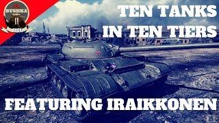 Ten Tiers Ten Tanks With iRaikkonen