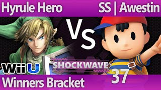 SW 37 Wii U - Hyrule Hero (Link) vs SS | Awestin (Ness) - Winners Bracket
