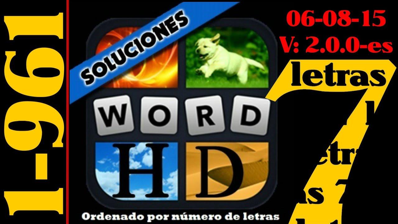 4 Fotos 1 Palabra Todas Las Soluciones De 7 Letras 1 961 Youtube