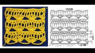 ☑ Красивые простые узоры крючком  узор