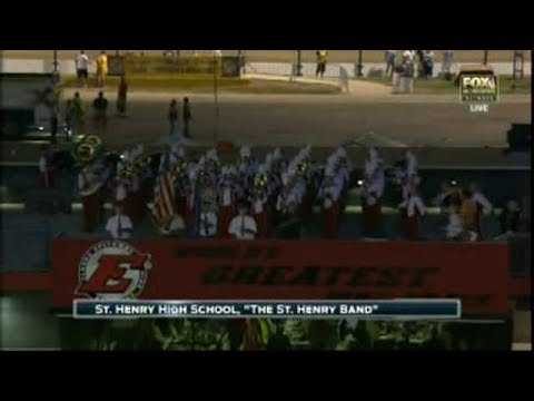 The Star Spangled Banner St Henry High School Band 2017-07-19