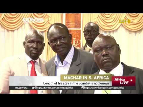Former South Sudan vice president in South Africa for medical treatment