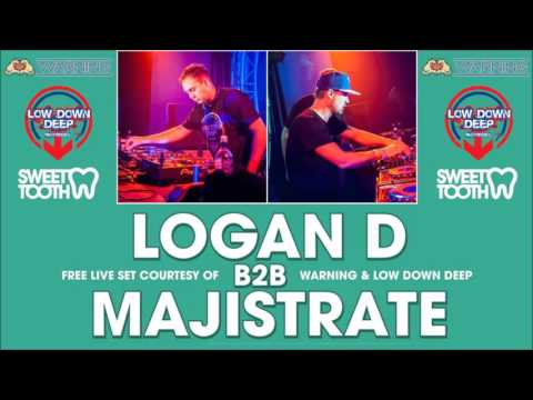Logan D B2B Majistrate w/ Eksman & Evil B - Warning Power Hour Dec 2015
