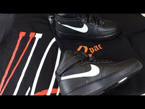 VLONE LONDON POP UP EXPERIENCE | � VLONE NIKE AIR FORCE 1