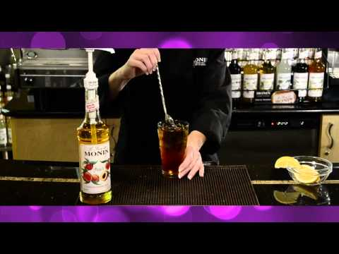 How to make sweet peach iced tea