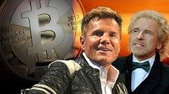 Promis werben angeblich für Bitcoin und Co