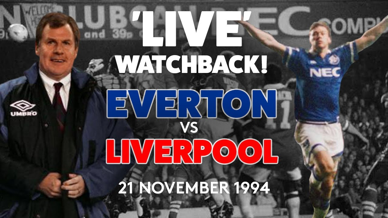FULL GAME: EVERTON V LIVERPOOL | 21 NOVEMBER 1994