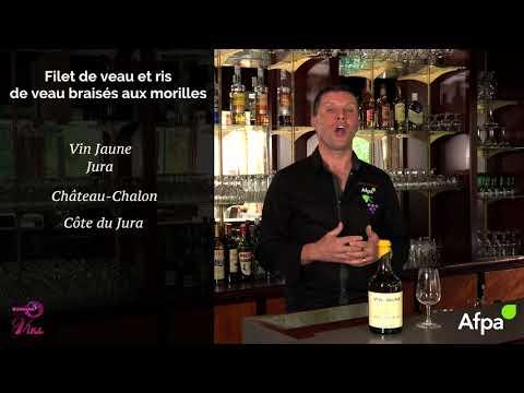 Accords mets et vins - Médaillon et ris de veau braisés aux morilles