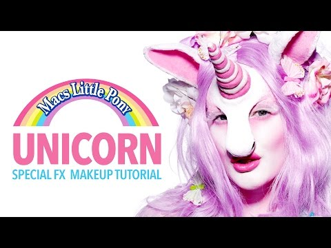 My little unicorn special fx makeup tutorial