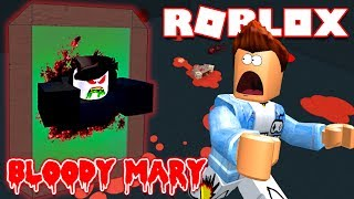 Roblox | GO LOOK In The MIRROR-BLOODY MARY Bloody Mary {Warning} Scary | Kia Breaking