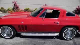 Walk Around & Start 1965 Chevy Corvette #2280