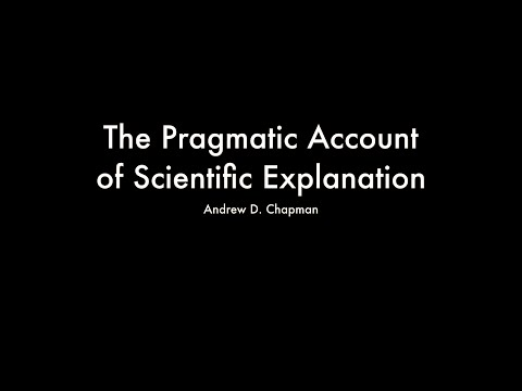 The Pragmatic Account of Scientific Explanation