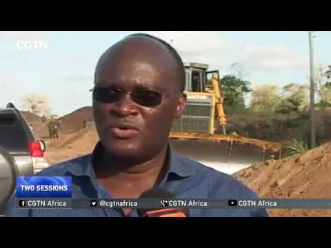 Chinese companies involved in big infrastructural projects in Africa