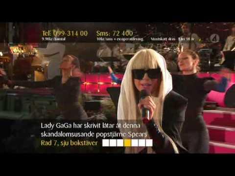 Lady gaga - Just Dance Live (Live Sommarkrysset)