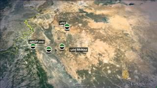 المعارضة السورية تسيطر على شرق نهر العاصي