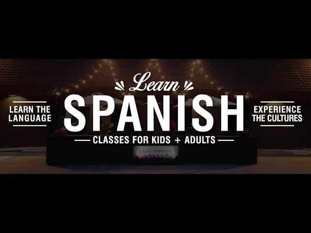 Casa de Espanol. Company Video.