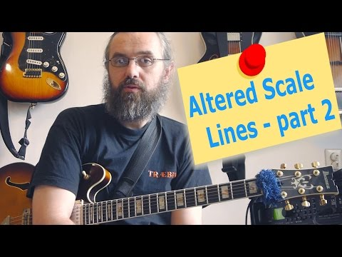 Altered Scale lines - part 2