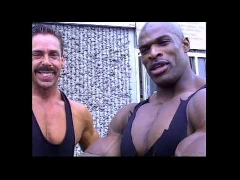 Ronnie Coleman Old Footage With Brian Dobson | Ronnie Coleman