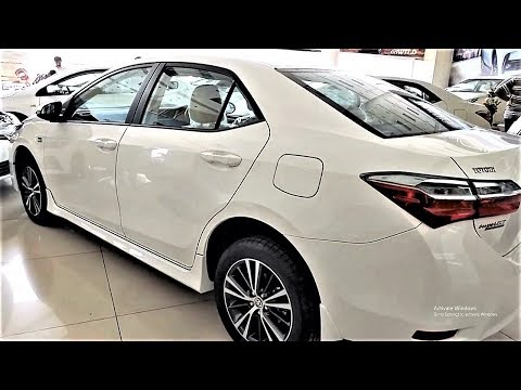 2017 2018 TOYOTA COROLLA ALTIS 1.6 FACELIFT WALKAROUND REVIEW INTERIOR AND EXTERIOR IN PAKISTAN