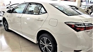 2017/2018 TOYOTA COROLLA ALTIS 1.6 FACELIFT WALKAROUND REVIEW INTERIOR AND EXTERIOR  IN PAKISTAN !