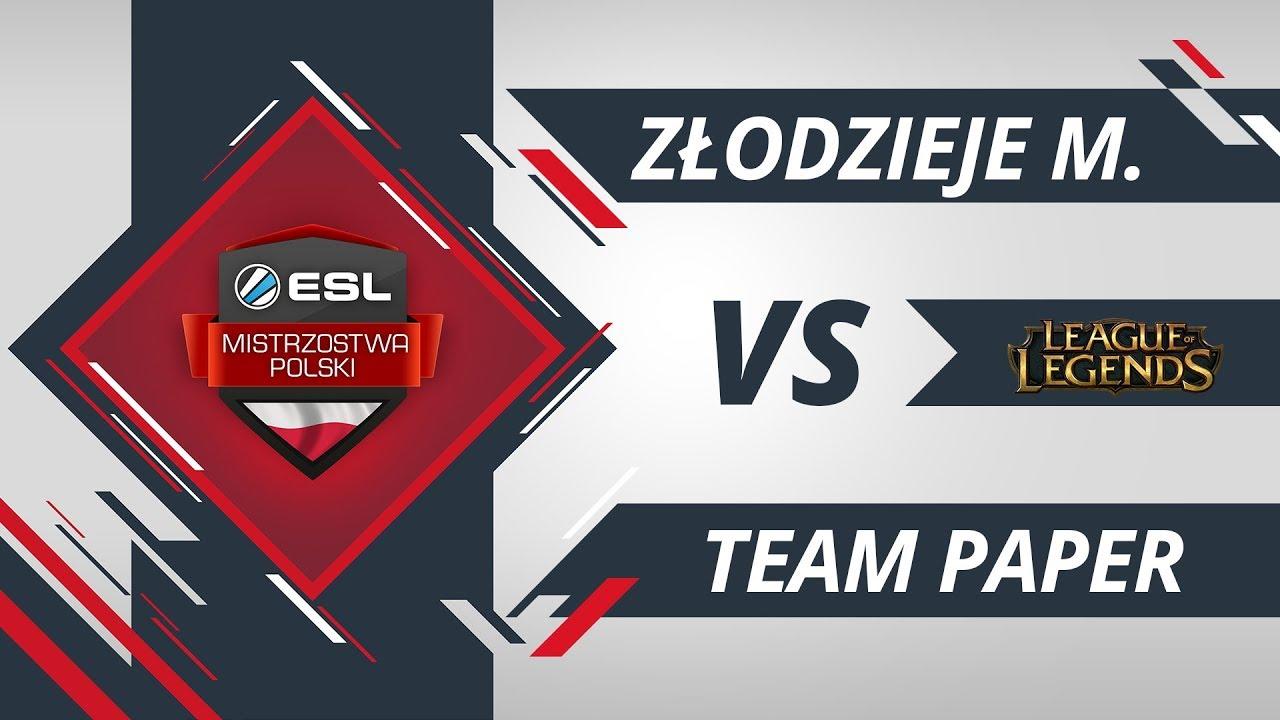 Złodzieje Monitorów vs Team Paper | EMP LoL W4D2 Gra #1