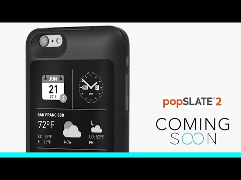 Popslate 2 - Smart iPhone Case with Second Screen
