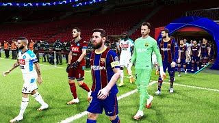 This video is the gameplay of barcelona vs napoli - uefa champions league 8 aug 2020 if you want to support on patreon https://www.patreon.com/pesme...