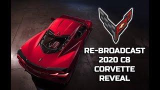 2020 C8 CORVETTE FULL REVEAL PRESENTATION in TUSTIN, CA