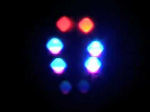 Finger Digital Light Dance- DNA Dance