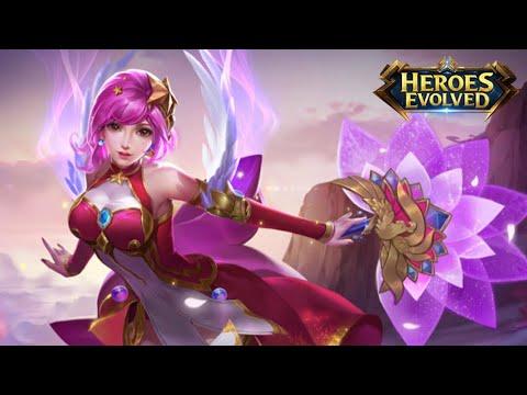 Гайд на Дьяо Чань или алая ведьма которая не смогла | Gameplay+build | Heroes Evolved